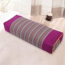 Melhor venda casa hotel suprimentos confortável cama travesseiro padrão listrado travesseiro retângulo corpo dormir travesseiros