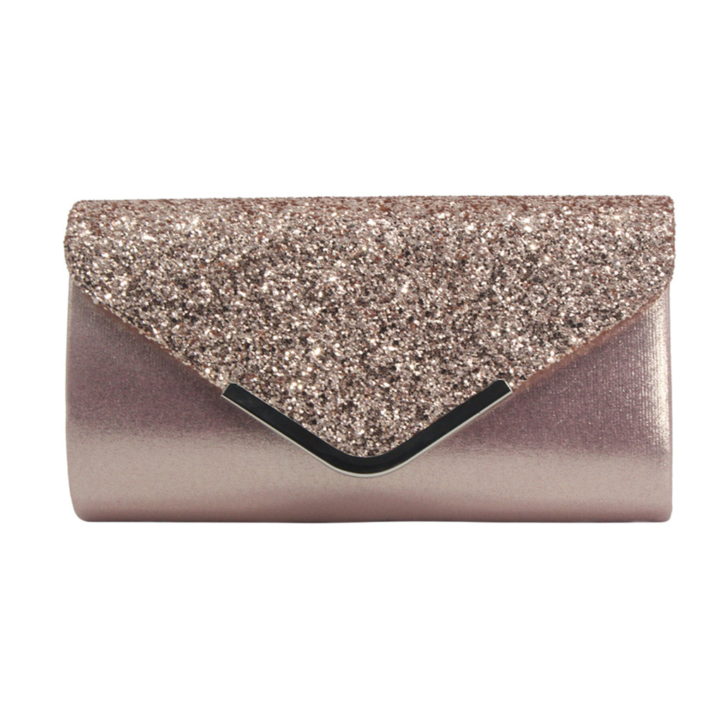 MUQGEW Women Evening Bags Fashion Sequins  Bag Cocktail Party Chain Phone Evening Bag Bolso Mujer Pochette Femme Clutch Sac