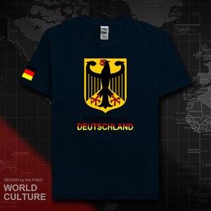 Немецкая Футболка Deutschland, Футболка мужская, трикотажная, 2018, футболка хлопковая, сборная, 100% хлопок, спортивные, для совещаний, для любителей фитнеса, 20