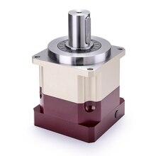 5 arcmin عالية الدقة حلزونية مقلل سرعة التروس علبة التروس 3:1 حتي 10:1 ل 80 مللي متر 750W محرك سيرفو يعمل بالتيار المتردد المدخلات رمح 19 مللي متر