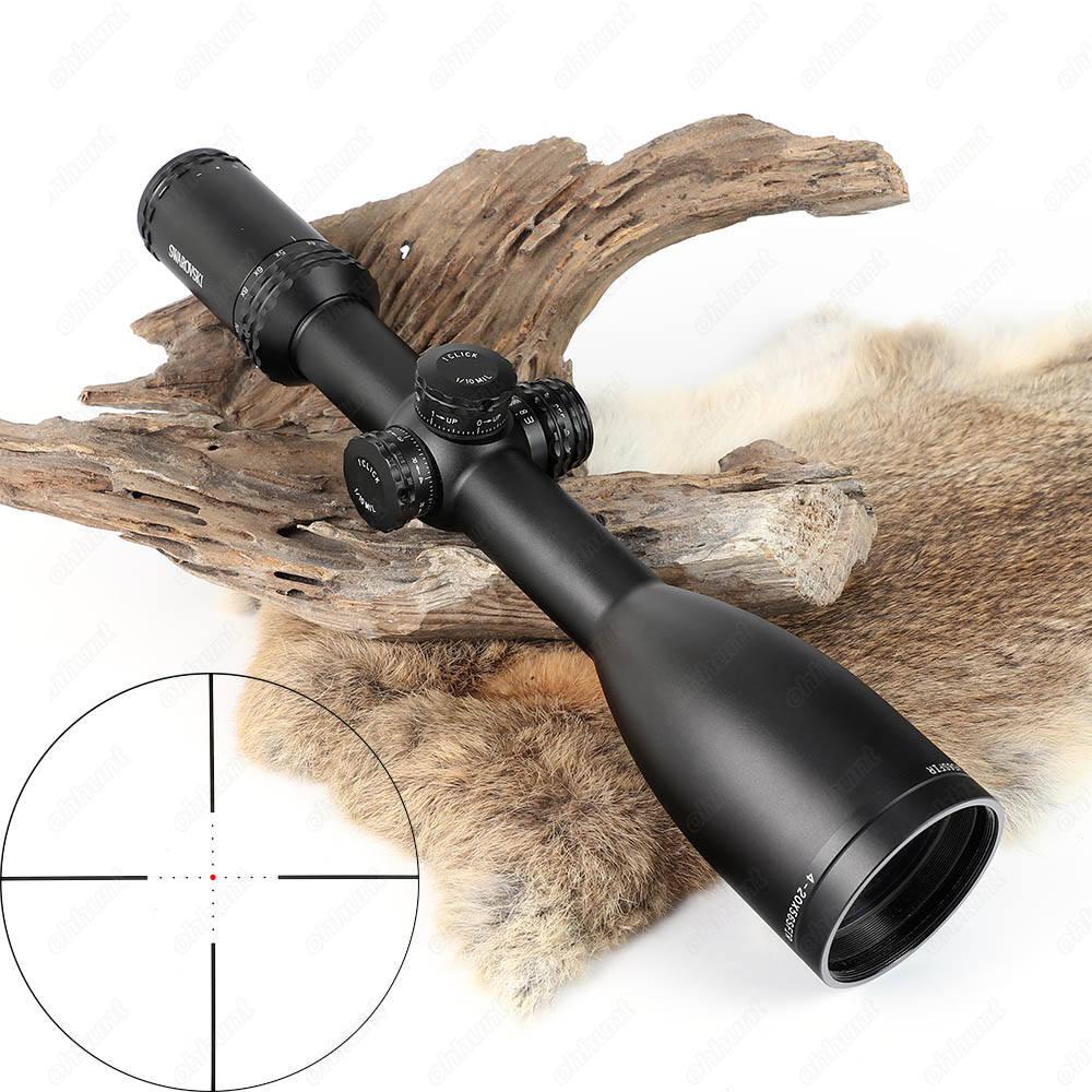 Hunting Swarovskl 4-20X56SFIR Riflescope Red Mil Dot Side Parallax Optical Sights Crosshairs Glass Etched Reticle Shooting Scope marcool alt za3 5 25x56 sfir riflescope