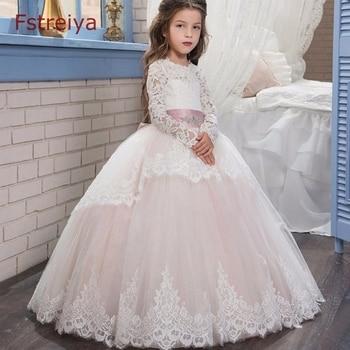 a18ab87e0 Bebé niñas princesa elsa vestido lol muñecas traje Fstreiya verano otoño  2019 niños Cenicienta vestidos para niñas vestido de fiesta de encaje