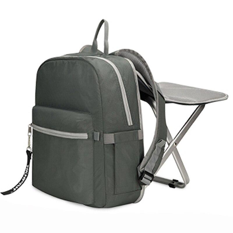 Nouveau sac à dos de pêche en plein air Sport randonnée Camping Trekking voyage sacs de tabouret portable multifonctionnel sac de pêche chaises pliantes