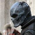 Ao ar livre Camuflagem Militar Tático SWAT Airsoft Wargame Paintball Completa Rosto Proteção Máscara de Halloween Horror Máscaras Máscaras Crânio Preto
