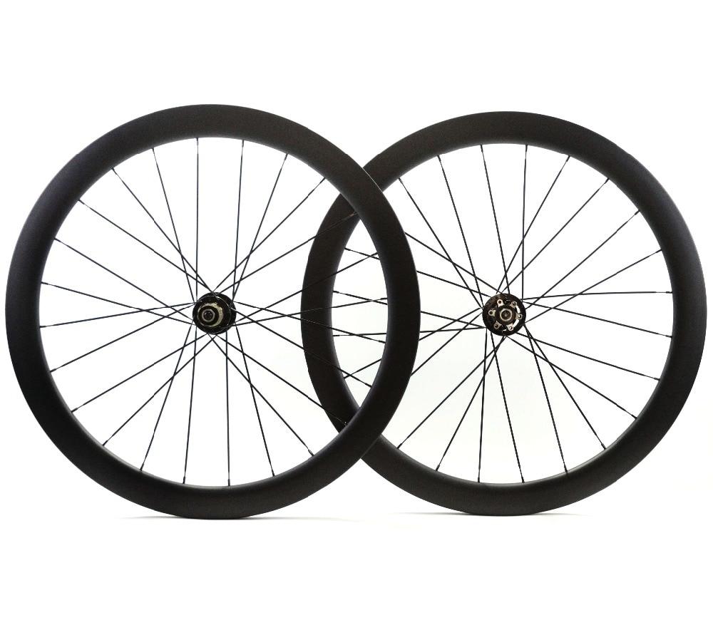 700C الطريق مكبح قرصي عجلات الكربون غير المتماثلة الخلفية 50 مللي متر عمق 25 مللي متر عرض الفاصلة/أنبوبي القرص cyclocros دراجة عجلات الكربون etcarbon wheelswheel 50mmcarbon wheels 50mm -