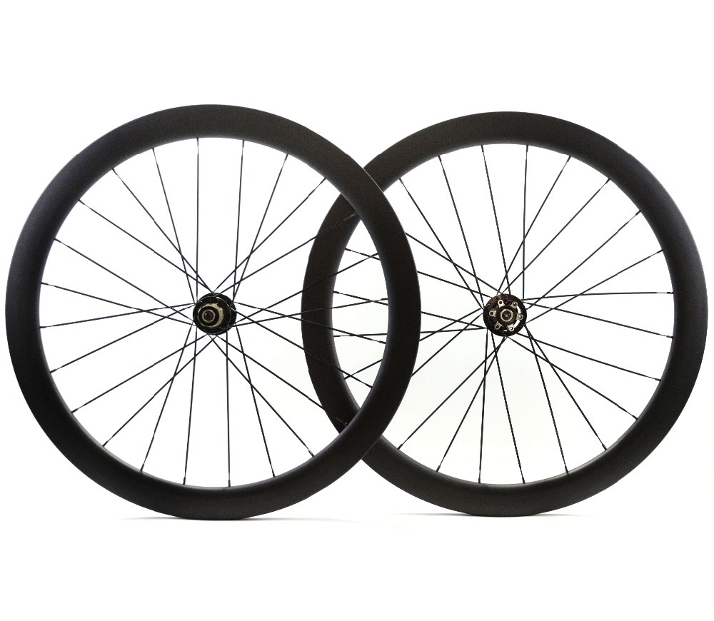 700C Road Disc Brake Rear asymmetric carbon wheels 50mm depth 25mm width clincher/tubular Disc Cyclocross Bikecarbon wheelset цена