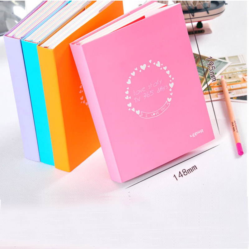 aliexpresscom buy 365 day plan weekly day planner notebook paper 184 sheets color pages organizer creative diary note book office school supplies from
