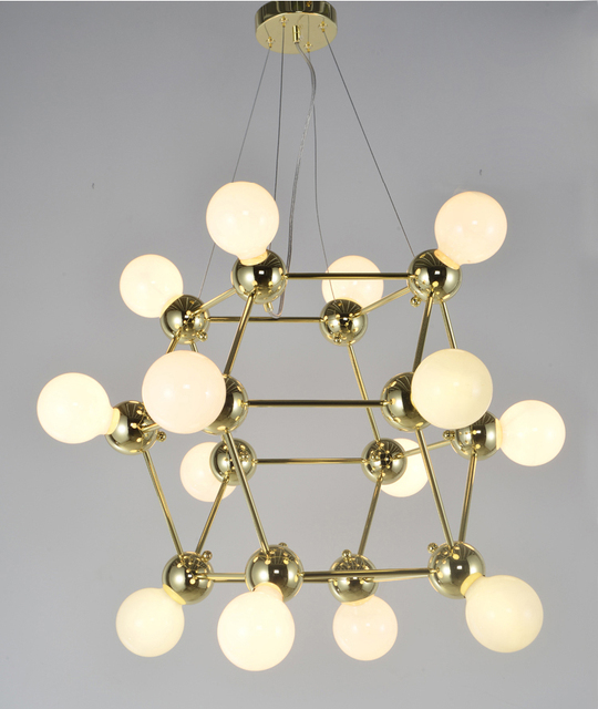 Nordic modern chandelier light magic bean bronze chandelier creative nordic modern chandelier light magic bean bronze chandelier creative bedroom villa chandelier lighting included bulb 14 mozeypictures Gallery