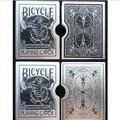 Free shipping 2pcs aluminum alloy card holder clip bicy magic tricks magic props