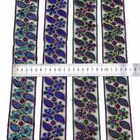 10Yards Embroidered Lace Trim For Dress Bags DIY Clothing Sewing Accessories Sequin Embroidery Lace Ribbons