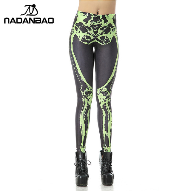 0781232c1ead5d NADANBAO New Custom Legging 3d Digital High Waist Elastic Slim Legins  Fashion Tetris Printed Leggins Women Leggings Pants