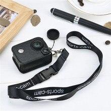 Amkov АМК-SJ для SJ4000 чехол для sj5000 SJ6000 для GoPro Интимные аксессуары кожа Спорт DV случае действия Камера случае go Pro Acessórios