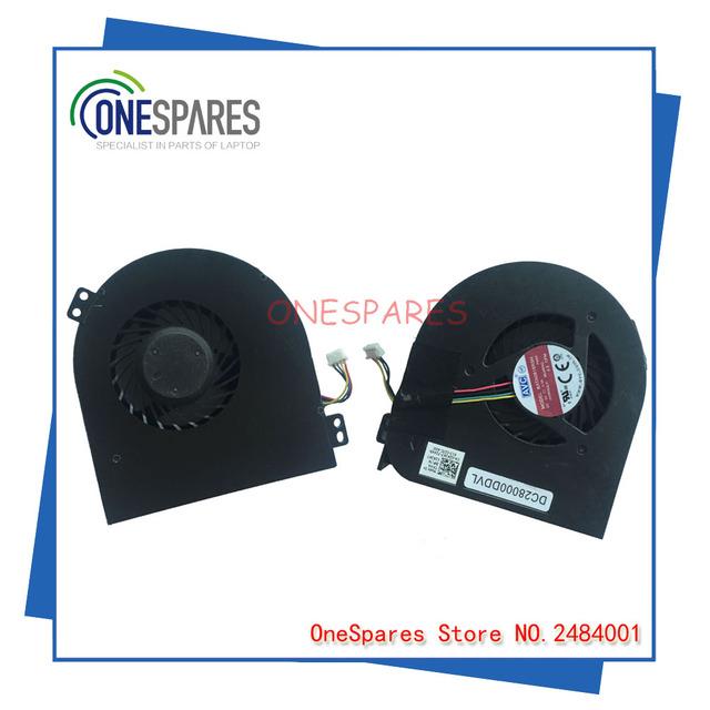Original del ordenador portátil nuevo para dell para precisión m4800 gpu ventilador de video dc28000ddvl 02k3k7 cn-02k3k7 bata0815r5h dc5v 0.3a