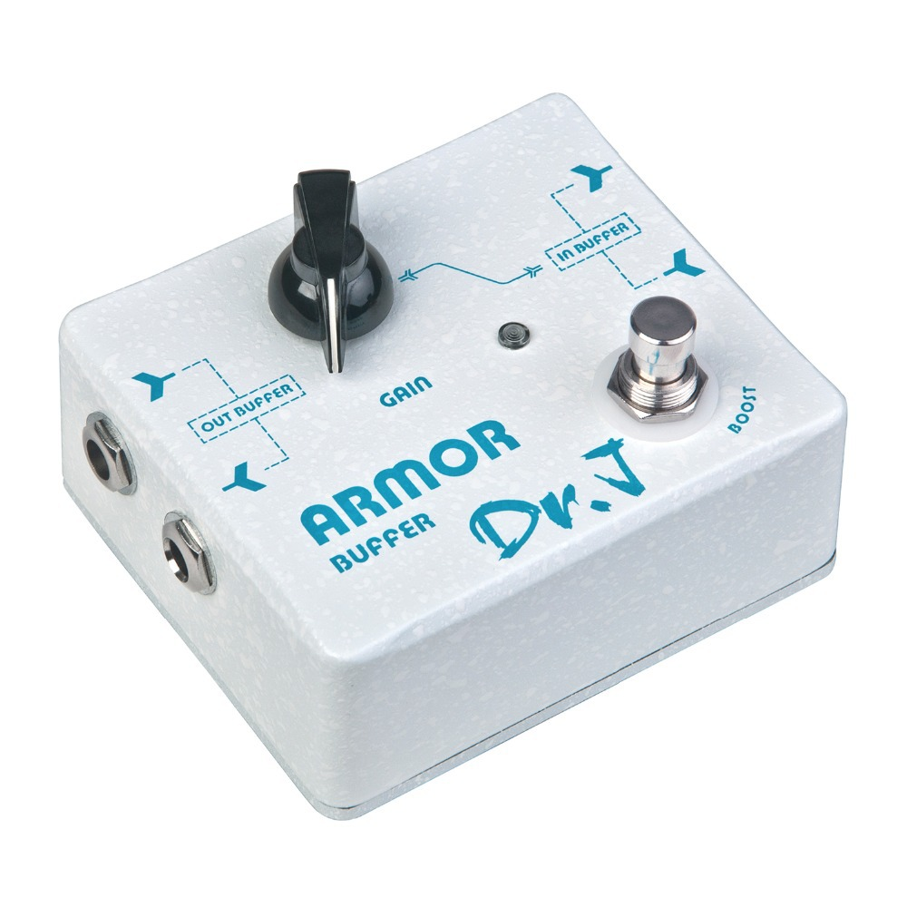 dr j armor buffer electric guitar pedal effect booster 20db gain range true bypass d 57 in. Black Bedroom Furniture Sets. Home Design Ideas