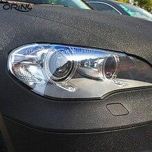 50CMX150/200/300 см черные блестящие виниловые DIY Стайлинг матовая шлифовка блеск автомобиля Стикеры виниловая пленка ORINO кузова автомобиля фольга для обертывания
