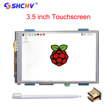 On sale Raspberry Pi 3 LCD 3.5 inch Touchscreen 480 x 320 HDMI Interface Brightness Adjustable Display Module + HDMI Adapter + Touch Pen