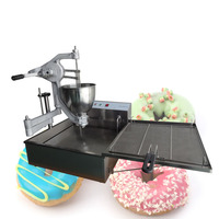 2018 Trending Products Manual Semi Automatic Donut Machine 1025 With Fryer