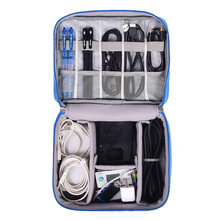 hot deal buy travel organizador portable digital accessories gadget devices organizer usb cable charger tote case storage bag hot sale
