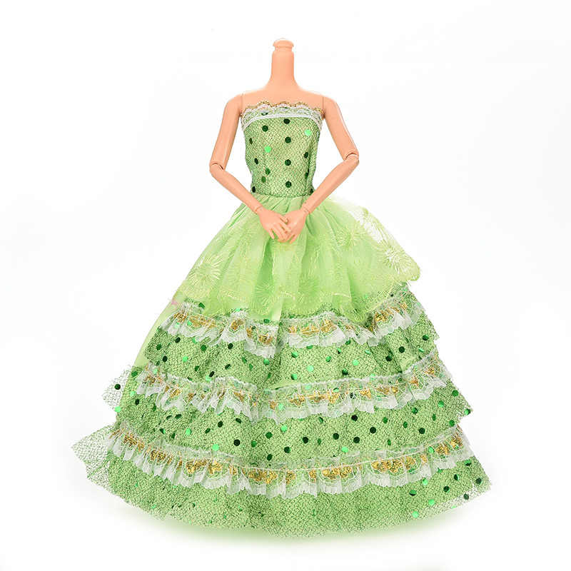 Newest ドール衣装美しい手作りパーティー服トップファッションガール高貴人形最高の子供 Girls'Gift