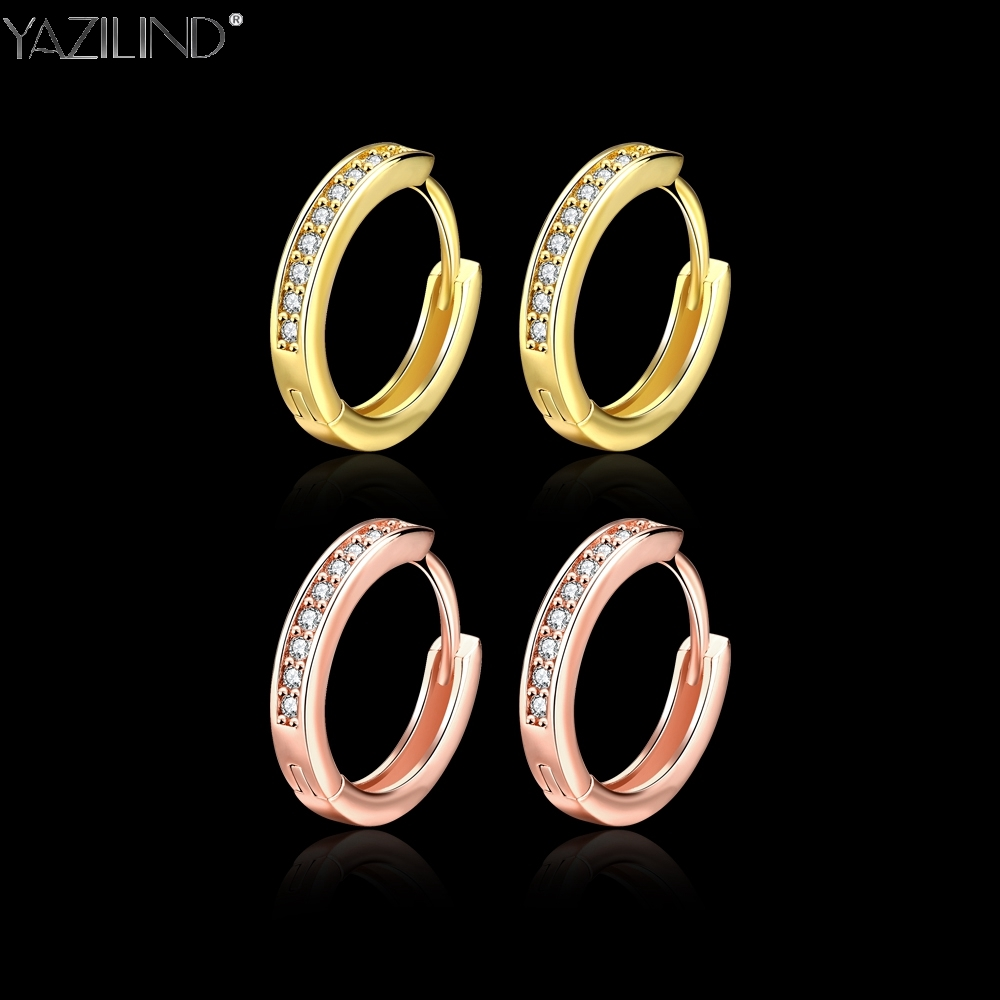 Womens Ear rings, Gilding The Rose Gold Aristocratic Ear Ring, The Ball Will Choose 2017 Womens Favorite Accessories