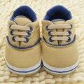 0-18 M Crianças Primeiro Walkers Suave Sole Crib Shoes Crianças Bebê Lace Up Sneaker Prewalker Shoes Hot