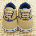 0-18M Toddlers First Walkers Soft Sole Crib Shoes Infants Baby Lace Up Sneaker Prewalker Shoes Hot