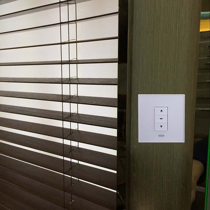 Custom Blind Wood Vertical Blind Motorized Wooden