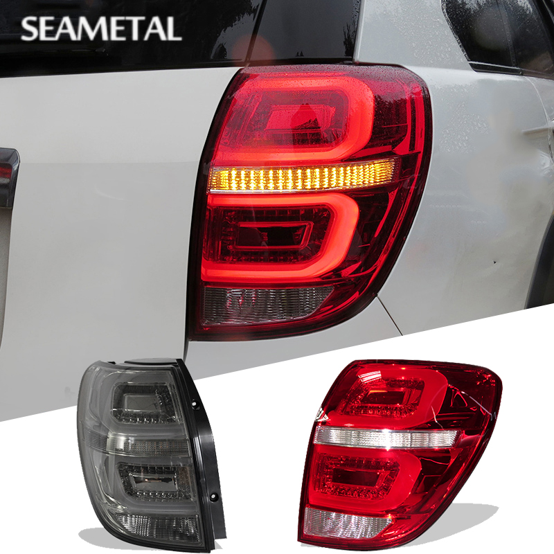 For Chevrolet Captiva 2006 2007 2008 2009 2010 2011 2012 2013 2014 2015 Rear Lights Tail Light Braking LED DRL Turning Lamps автомобильный dvd плеер oem dvd chevrolet cruze 2008 2009 2010 2011 gps bluetooth bt tv
