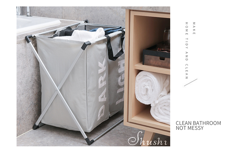 two grid laundry basket  (14)