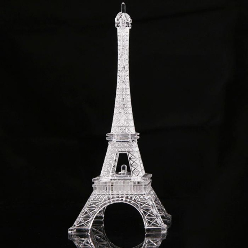 Good Lumiparty Colorful Romantic Eiffel Tower Led Night Light Desk Wedding Valentines Day Bedroom Decorate Lamp Child Gift Zk30 Led Lamps