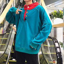 2018 Recommend In Autumn The New listing Fashion Ins Exceed Fire Student Color Even Hat Male Loose hoodies hip hop size M-5XL