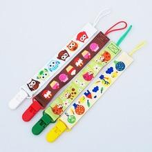 Nieuwe Babyfopspeen Clip Ketting Lint Houder Chupetas Fopspeen Pacifier Clips Leash Strap Tepel Houder Voor Zuigelingenvoeding W0005