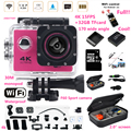 "F60 pro Sports Camera 2.0"" ultra 4K 1080P HD wifi Camera Sport action camera waterproof 30m go style +extra battery +32GB card"