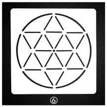 Mandala Circle Design Stencils For Painting Scrapbooking Stamp Cake Decorating Tool Embossing Paper Card Album DIY Decoration