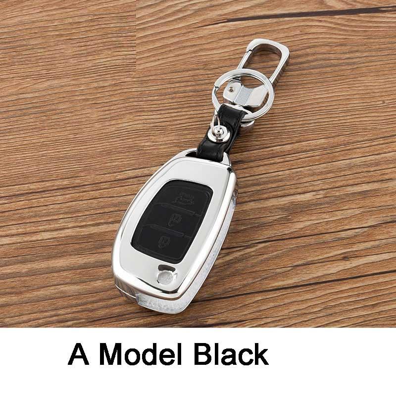 Car Key Case Shell <font><b>Cover</b></font> For For <font><b>Hyundai</b></font> Creta Ix35 Santa Fe Accent Solaris Tucson 2016 Accessories Key Case For Car For <font><b>Hyundai</b></font>