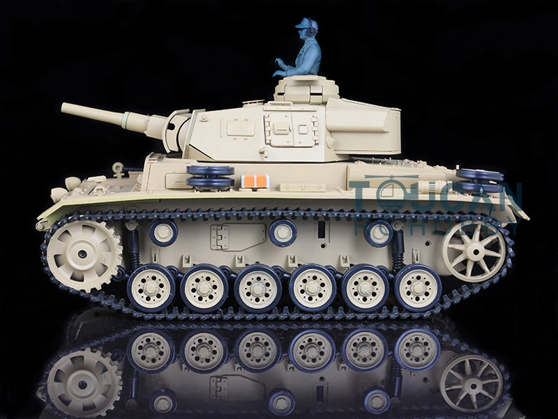 HengLong 1/16 Scale German Panzer III H RTR RC Tank Model Plastic Version 3849 все цены