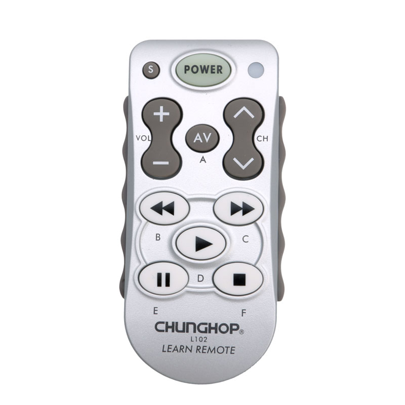 CHUNGHOPUniversal Mini Smart Remote Control Controller Learn Function For TV DVD CBL VCD universal tv dvd vcd remote controller 2 aa