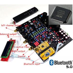 Image 2 - CSR8675 Bluetooth 5.0 AK4497EQ*2 AK4118 DAC decoder support APTX HD DSD Coaxial fiber USB Bluetooth Input