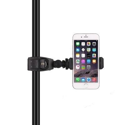 Smartphone Tripod Mount Universal Smart Phone navigator Clamp Tripod Adapter Holder Clip for iPhone 7 plus