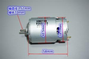 Image 4 - New Johnson Motor 550 motor 12v 18V 19000RPM High speed motor for Bosch Weir Makita Wicks