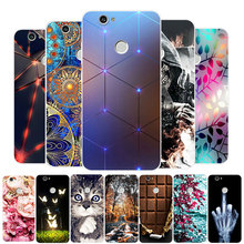 For Coque Huawei Nova Case Silicone Soft TPU Back Cover 3D Relief Cute Cartoon Cat Flower Girl Paint Capa