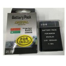 ENEL23 EN-EL23 lithium battery EN EL23 Digital camera battery For Nikon COOLPIX P600 S810c P900 P610