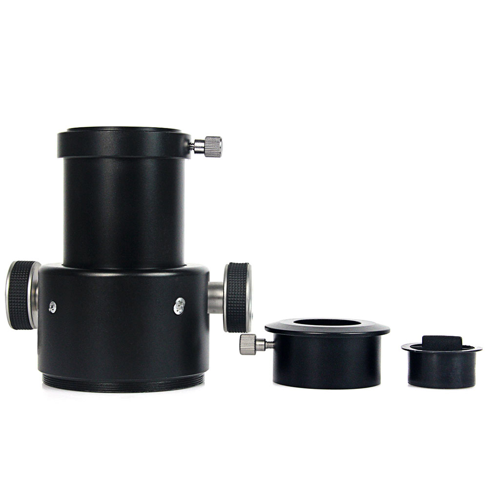 "New Single Speed 2 Inch Crayford Focuser For Refractor Telescope W/ 1.25"" Adapter LD2011B"
