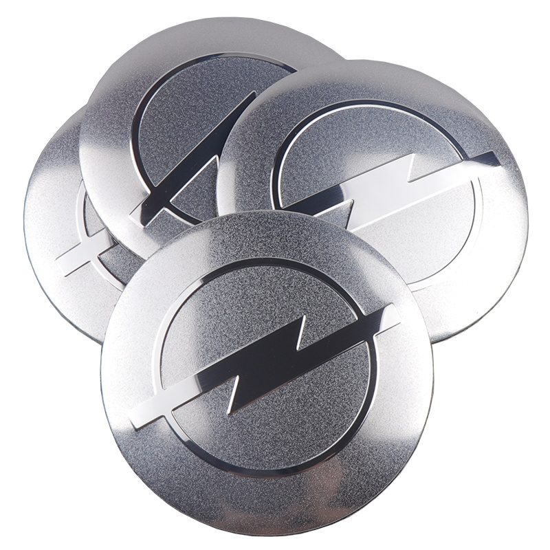 Image 4 - 4pcs Car Styling Wheel Center Hub Cap Stickers Covers Emblem Case For Opel H G J Corsa Insignia Astra Antara Meriv Accessories-in Car Stickers from Automobiles & Motorcycles