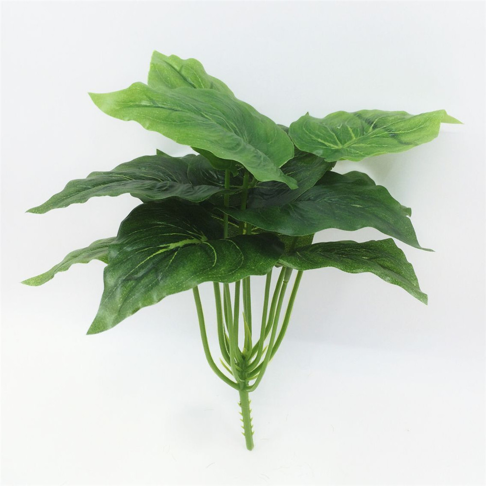 Svatební dekorace Hot 1ks Velký 25cm Umělá rostlina Lifelike Bush Hrnková plastová strom Domácí zahrada Office dekorace Plantas