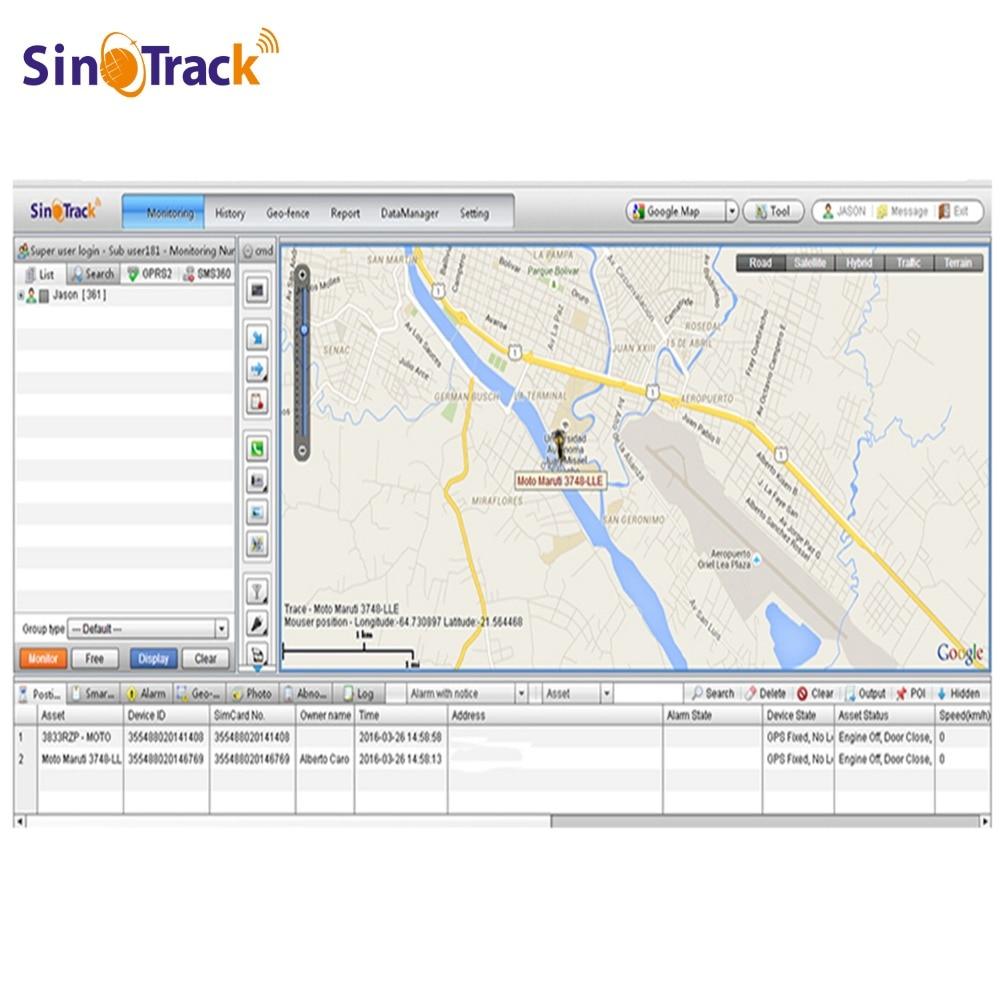 Free DHL Shipping GPS Tracking Software GPS Fleet Management