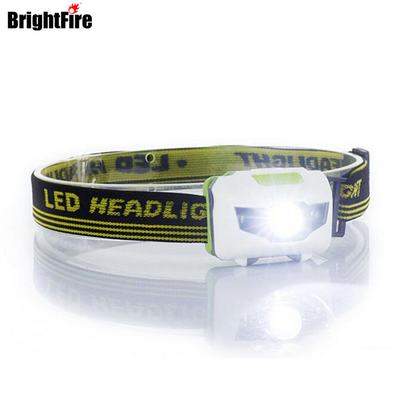 H3 High quality 4 Mode headlamp Waterproof LED Headlight Flashlight white + red light Head lamp Torch light r3 2led super bright mini headlamp headlight flashlight torch lamp 4 models