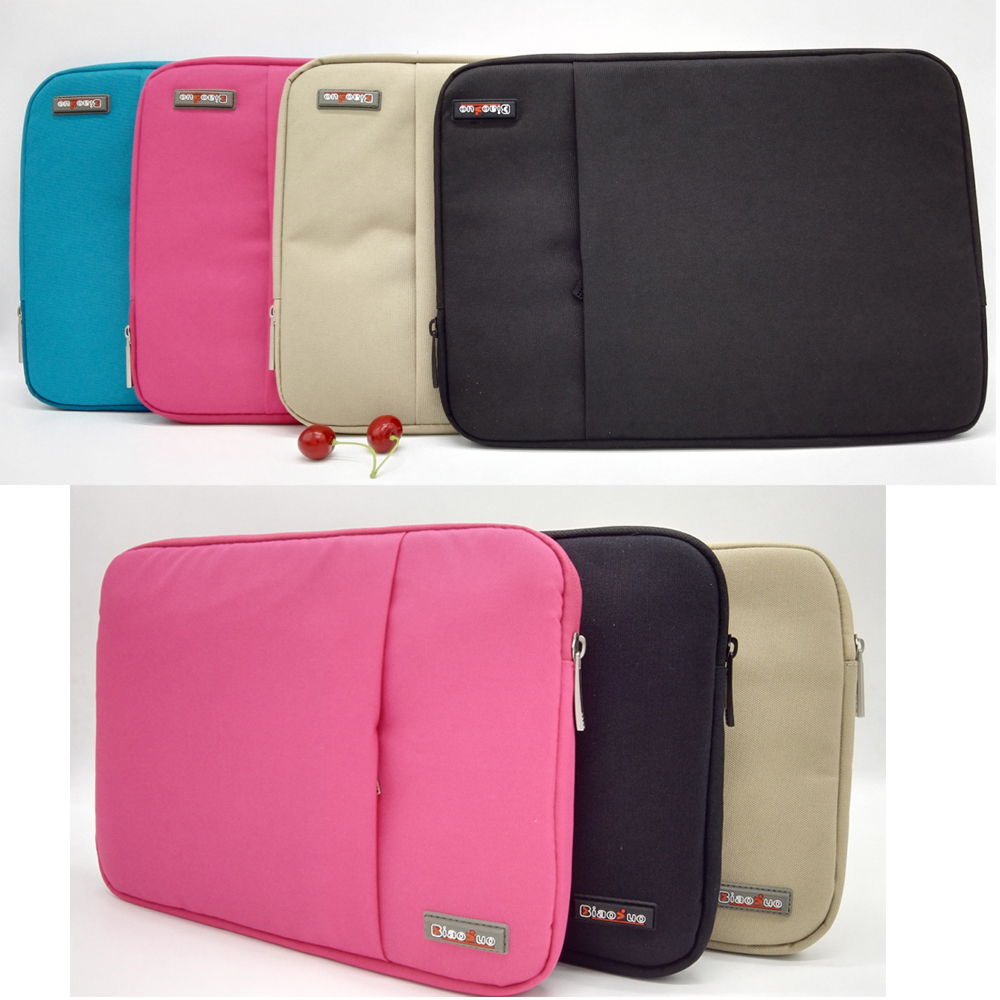 Fashion Nylon Laptop Bag Notebook Cover Case For Lenovo Dell HP Asus Acer Apple Macbook Air Pro retina 11 13 Sleeve