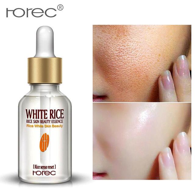 Producto de Importación  2 pzas de suero facial de arroz blanco + Crema blanqueadora hidratante anti envejecimiento