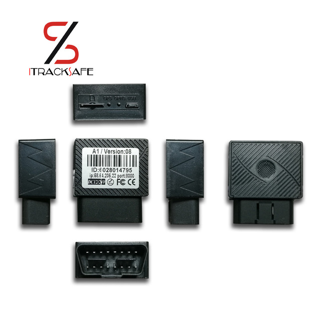 16 PIN Auto Car GPS Tracker locator with Web Vehicle Fleet Management system IOS & Android APP 1
